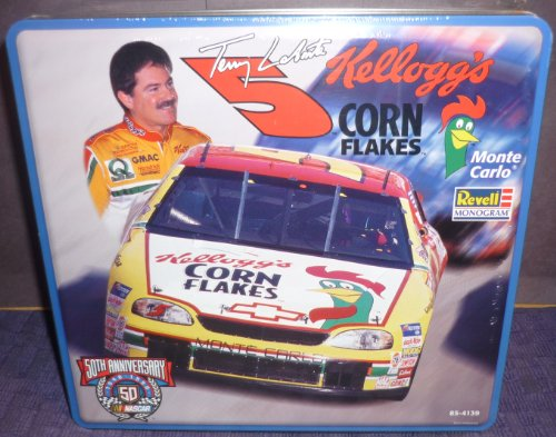 # 4139Revell Nascar 50. Jahrestag Collector Dose Terry Labonte # 5Kelloggs Corn Flakes Maßstab 1/24Plastic Model Kit