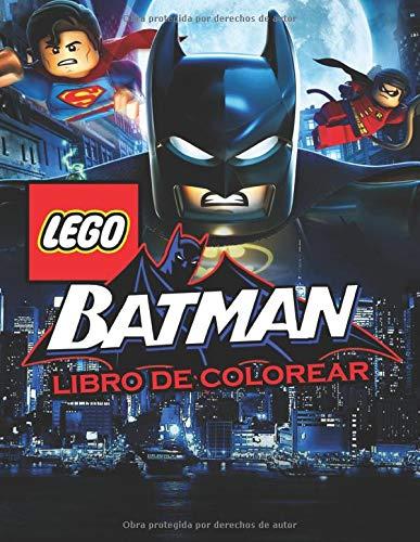 Batman Lego Libro de Colorear: La Batman Lego Libro para Colorear para niños de 3 a 8 años!