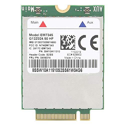 4G-Netzwerkkarte, EM7345 04X6014 100Gbps 4G LTE WWAN-Kartenmodul für Lenovo Thinkpad X250 X1C W550