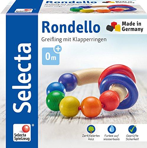 Selecta 61007 Rondello, Greifling, 7,5 cm