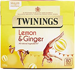 10 Best herbal teas - lemon & ginger