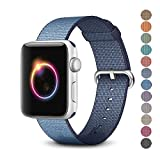 Woven Nylon Replacement Band for the Apple Watch by Pantheon, Women's or Men's, Strap fits…