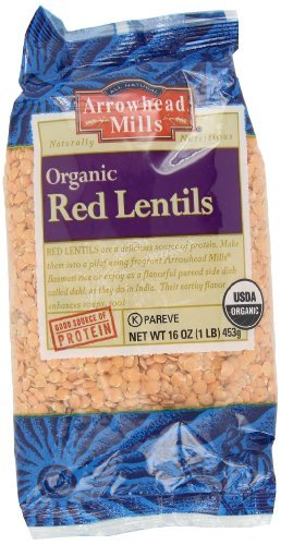 Arrowhead Mills Lentils Milwaukee Mall -- Red of6 Bombing new work 1-Pounds Pack by