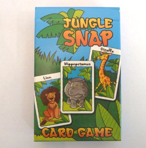 Jungle Snap – Kinder-Kartenspiel, Familienspaß (englische Version)