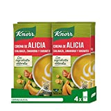 Knorr - Crema Alicia, 500ml - [pack de 4]...