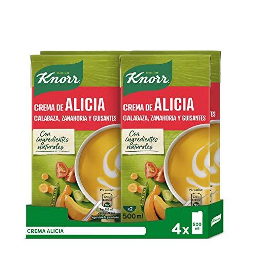 Knorr - Crema Alicia, 500ml - [pack de 4]