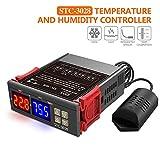 Diymore termostato controlador de temperatura y humedad digital AC 110V-220V deshumidificador calentador de agua con AM2120 refrigerador humidificador deshumidificador