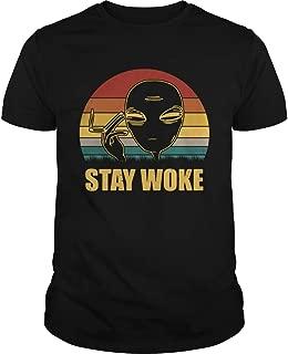 Alien smoke stay woke vintage shirt