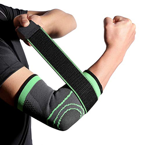 Yeyll Knieschützer, Sport-Knieschoner, langlebig, bequem, für Fitness, Schutzausrüstung, Ellenbogenbandage