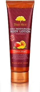 Tree Hut Shea Moisturizing Body Lotion Tropical Mango, 9oz, Ultra Hydrating Body Lotion for Nourishing Essential Body Care