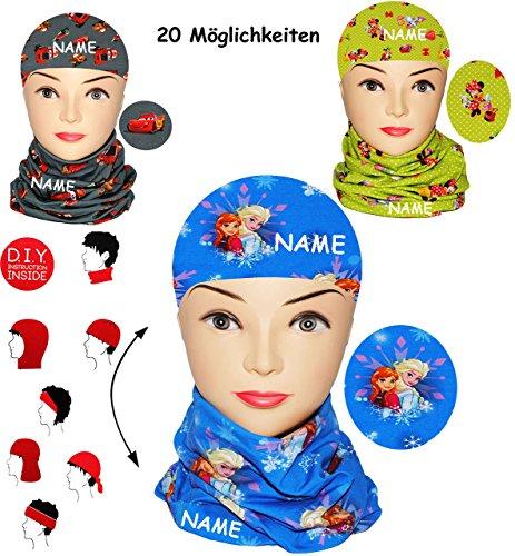alles-meine.de GmbH Multifunktionstuch / Schal & Mütze - Disney Frozen - die...