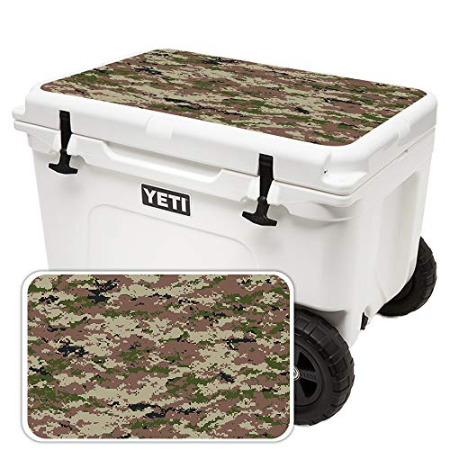 MightySkins (Cooler Not Included) Skin Compatible with Yeti Tundra Haul Cooler Lid - Urban Camo | Protective, Durable, and Unique Vinyl Decal wrap Cover | Easy to Apply | Made in The USA