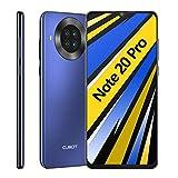 CUBOT NOTE 20 PRO Smartphone 6.5 Pollici HD 6GB RAM 128GB ROM 4200mAh Ricarica Rapida Android 10 Quad Fotocamera Cellulare Supporto Face ID, NFC, Dual SIM, 4G Blu