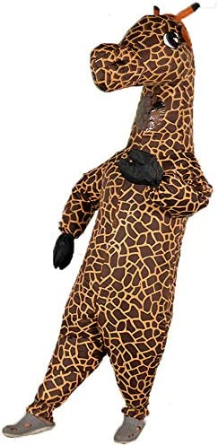 Inflatable Costume for Adult Funny Shark Giraffe Banana Costume Halloween Party Costume Full product image