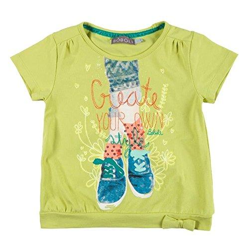 Bóboli - Camiseta de manga corta - para niña verde 8 años