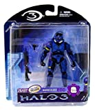 Halo 3 Mcfarlane Toys Series 2 Exclusive Action Figure BLUE Spartan Soldier EOD