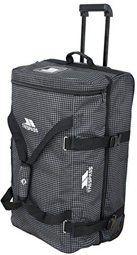 Trespass Holibag , Black / Grey, Koffer 85L / 2 Main Compartments, Black
