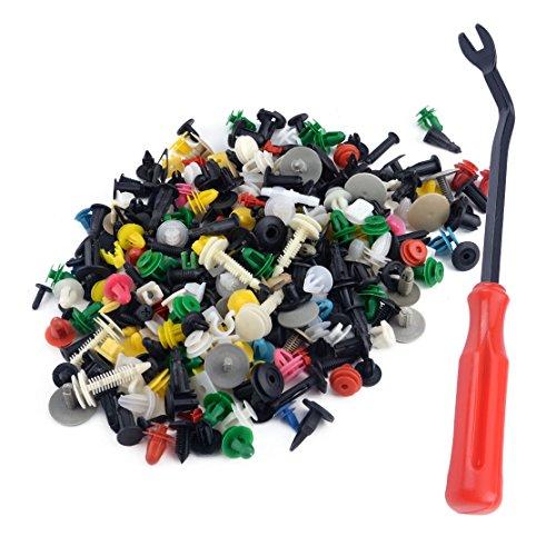 CITALL 500 pcs push pin porte garniture panneau hybride clip attache rivet pare-chocs kit de retenue avec des outils