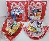 McDonalds 2020 Mickey & Minnie's Runaway Railway - Set of 4 - (#1,#2,#3 & #4)