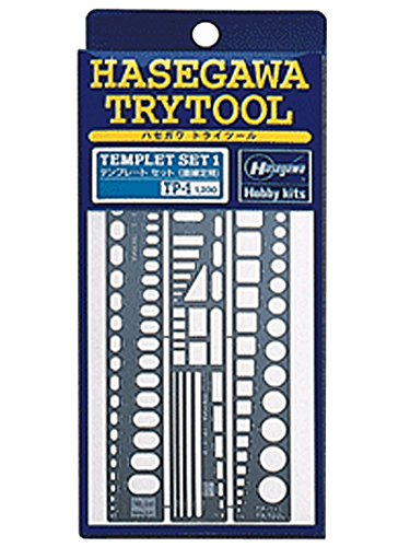 Hasegawa Try Tool Series Template one Straight Edge (TP1) by