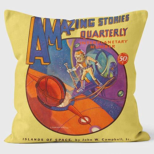 WELOVECUSHIONS Amazing–Interplanetary número–Pulp Fiction cojín