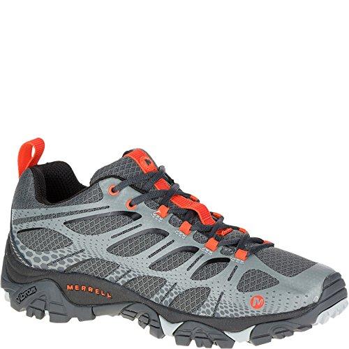 Merrell Men's Moab Edge Shoes, Grey, 13 M US