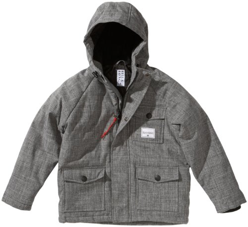 BILLABONG Jungen Winter Jacke Montery, Grey Heather, 8, L2JK06BIW2