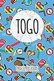 Togo Travel Journal: 6x9 Travel planner I Road trip planner I Dot grid journal I Travel notebook I Travel diary I Pocket journal I Gift for Backpacker