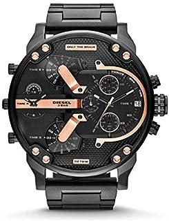Diesel Mr. Daddy 2.0 Men's Black Dial Stainless Steel Band Watch - DZ7312