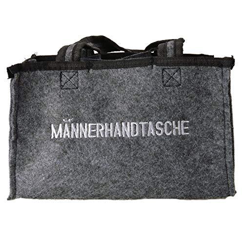 Unbekannt Männerhandtasche Einkaufstasche für 6 Flaschen Bier - Tragetasche