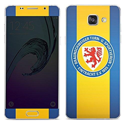 DeinDesign Samsung Galaxy A5 (2016) Folie Skin Sticker aus Vinyl-Folie Aufkleber Eintracht Braunschweig Fanartikel Football