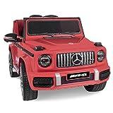 Daliya Kinder-Elektroauto Mercedes Benz G63 AMG Kinderauto Kinderfahrzeug 2,4GHz Bluetooth...