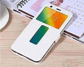 """Flip Cases - Flip Cover for for Lenovo K5 Play L38011 Case Flip Leather Phone Case for for Lenovo K5 Play K320t 5.7"""" Back Cover Funda (White)"""