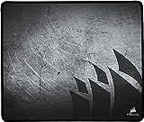 Corsair MM300 Alfombrilla de ratón para juego superficie paño antidezgaste, Tamaño Medio, Negro