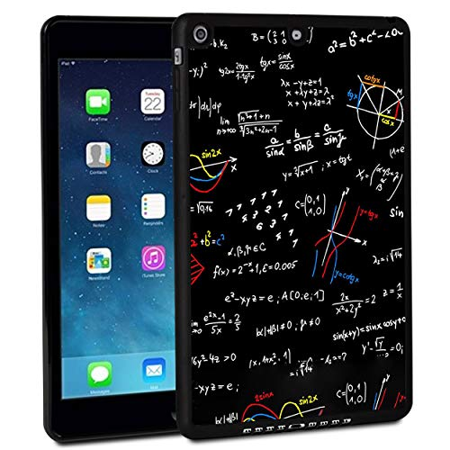 iPad 9.7 Inch 2018 Case,iPad Air 2 Case,Rossy Shockproof Hard Shell Rubber Bumper Protective Case with Colorful Math Pattern and Kickstand for Apple iPad 9.7 Inch 6th Generation