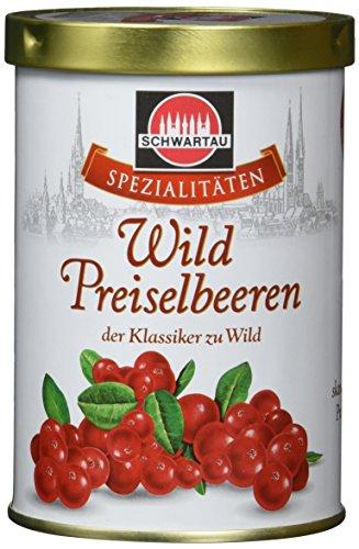 Schwartau Spezialitäten Waldpreiselbeeren, der Klassiker zu Wild, 6er Pack (6 x 330 g Dose)