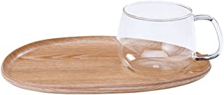 Kinto Fike Cafe Lunch Wood Glass