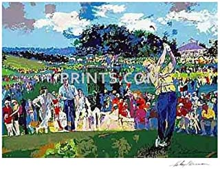 LeRoy Neiman - Augusta Golf Hand Signed by LeRoy Neiman Serigraph