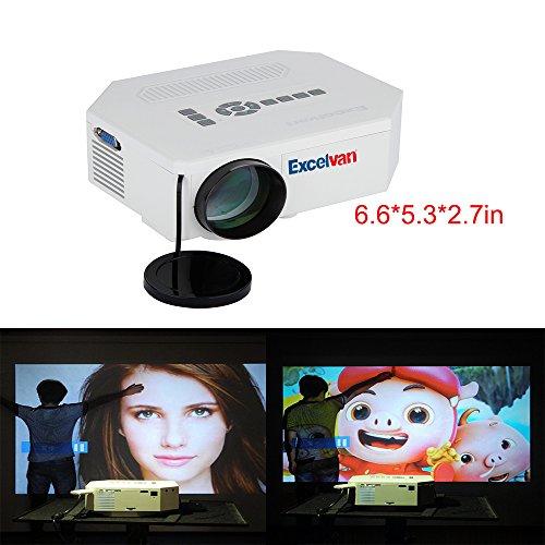 Taotaole Multi-media 150 Lumens Portable LED Projection Micro Projector
