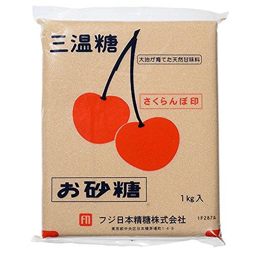 フジ日本精糖『さくらんぼ印 三温糖』