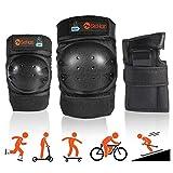 SeHan Inliner Schoner Set für Kinder ab 3 bis 12 Jahre - 6 in 1 Schutzausrüstung Set mit 2...