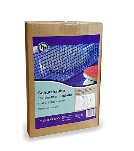 hausratplus HK Schutzhaube für Tischtennisplatte PE Gewebe185 x 70/30 x 160cm