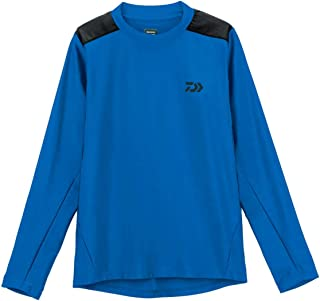 Daiwa Sale DE-6007 T Shirt Long Sleeve Quick Dry Blue Size XL 110501