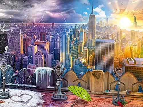 Ravensburger Puzzle - Le Stagioni di New York, 16008 2
