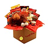 Gift Basket Drop Shipping Tough Guy's Snack Care Package