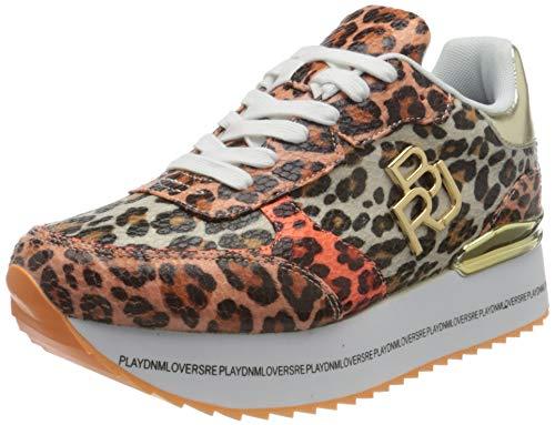 Replay Damen MONTHRA Sneaker, 1367 Leopard, 39 EU