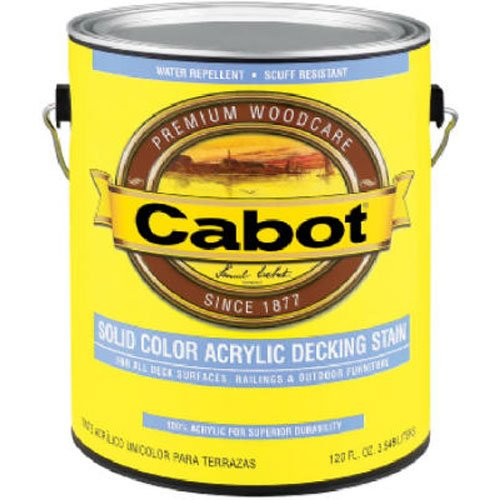 Cabot Stain Medium Base Solid Color Decking Stain