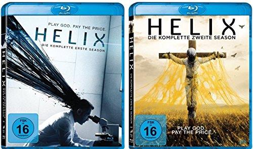 Helix - die komplette Staffel 1+2 im Set - Deutsche Originalware [6 Blu-rays]