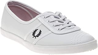 Fred Perry Aubrey Leather Womens Sneakers White