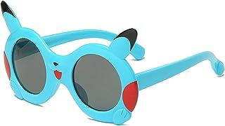 GWQDJ - Niños Polarizados Gafas De Sol Moda Dibujos Animados Deportes Infantiles UV400 Protección Eyewear